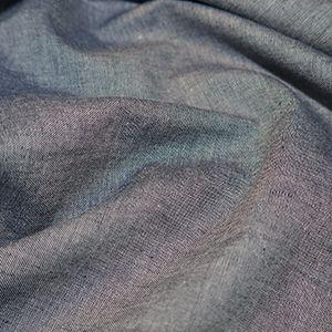 Chambray Fabric Navy