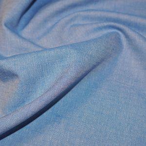 Chambray Fabric Blue