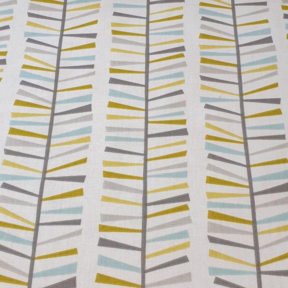 Oilcloth Fabric Retro design