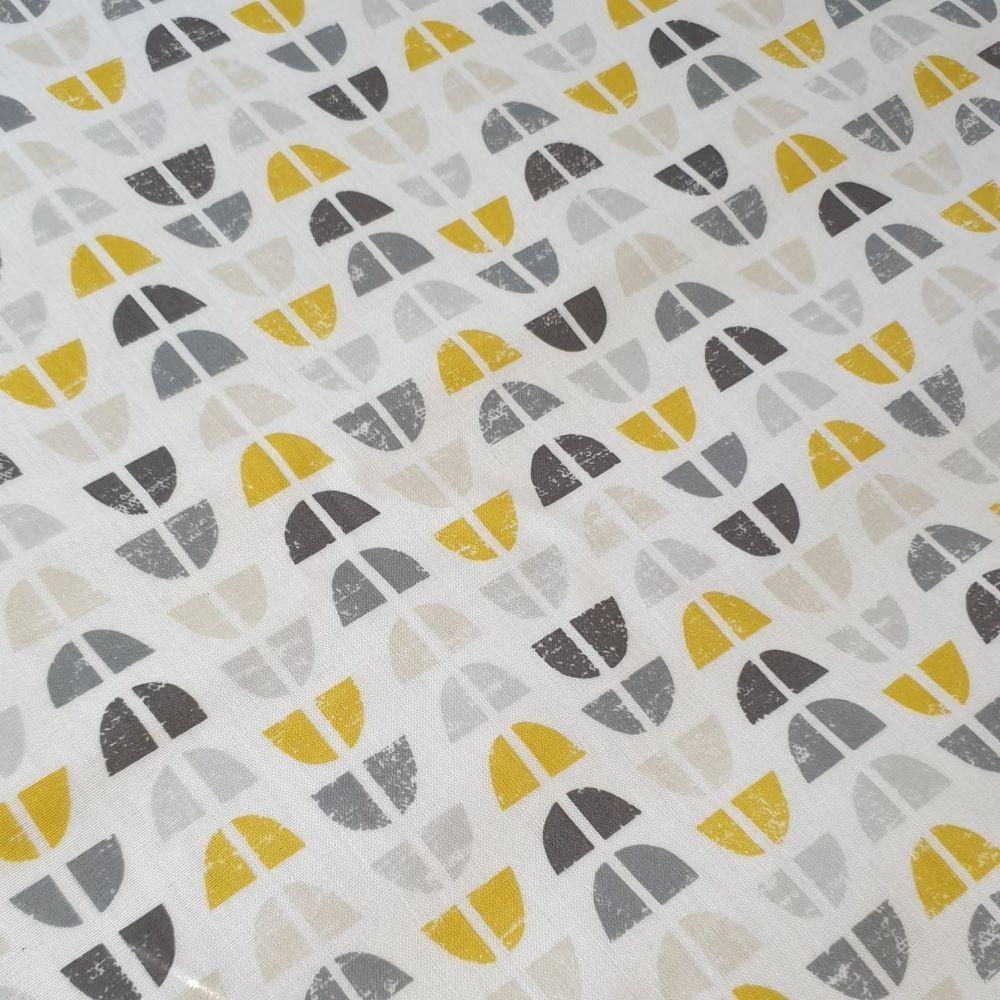 OilCloth Fabric Retro Design 2