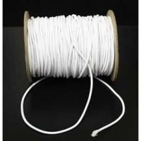 Elastic Cord 2.5mm White