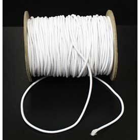 Elastic Cord 2.5mm White