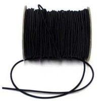 Elastic Cord 2mm Black