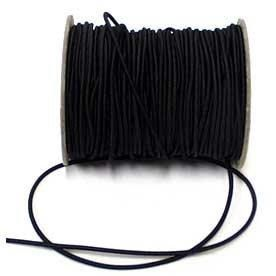 Elastic Hat Cord 3mm Black