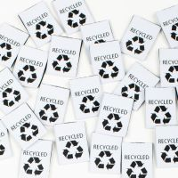 Kylie & The Machine Sewing Labels Recycled