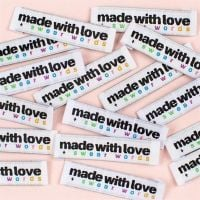 Kylie & The Machine Sewing Labels Made With Love & Swear Words