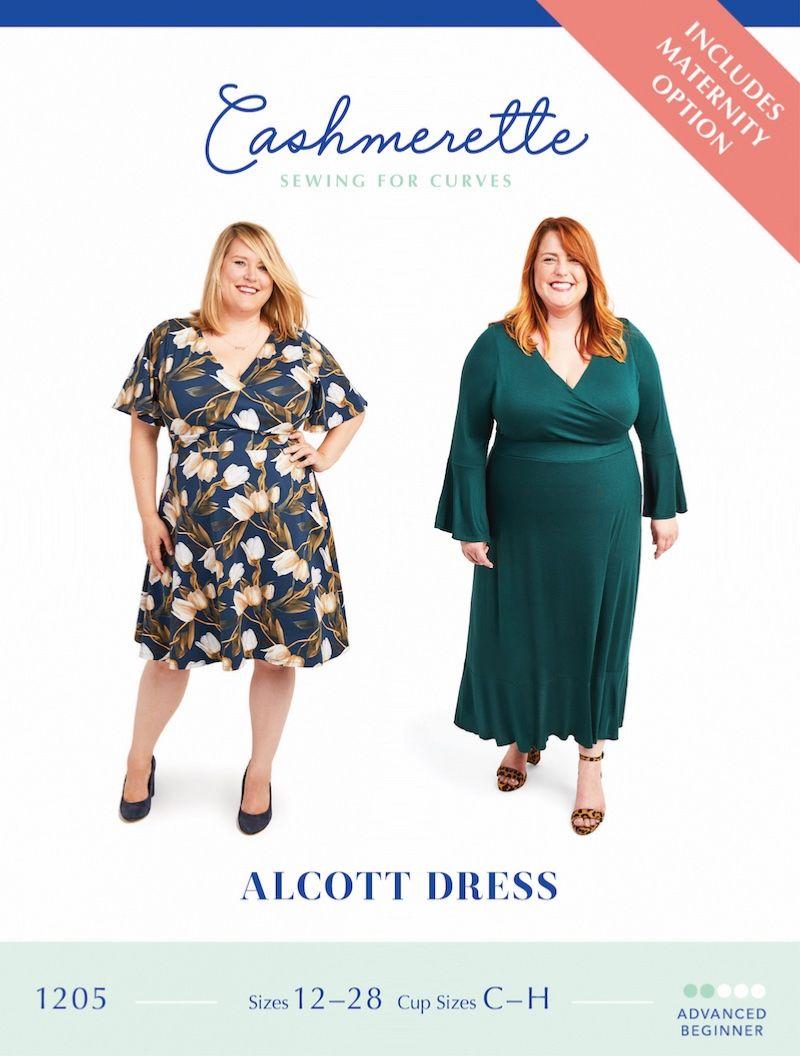 Cashmerette Alcott Dress Sewing Pattern