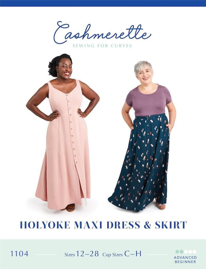 Cashmerette Holyoke Maxi Dress & Skirt Sewing Pattern