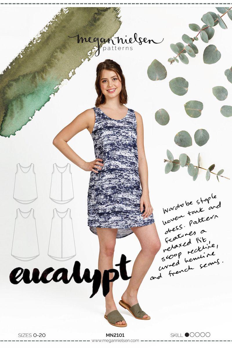 Megan Neilsen Darling Eucalypt Tank & Dress Sewing Pattern