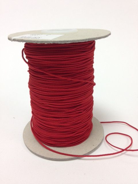 Elastic Cord 1mm Red