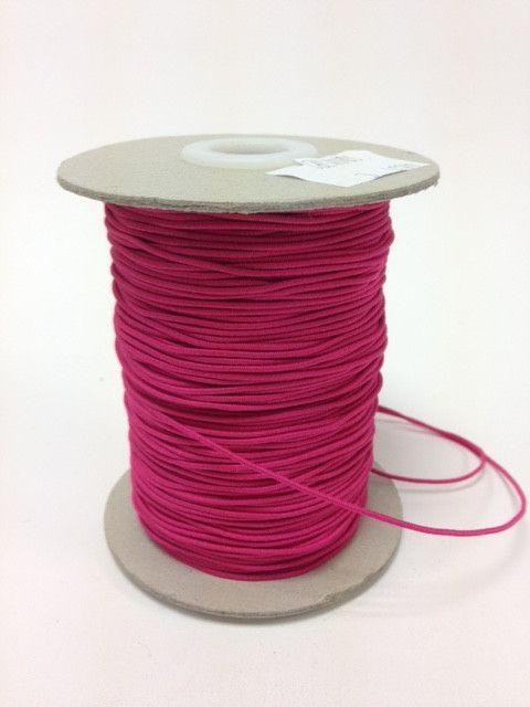 Elastic Cord 1mm Cerise