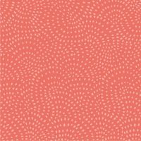 Dashwood Studio Twist Cotton Fabric Coral