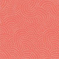 Dashwood Studio Twist Cotton Fabric Coral