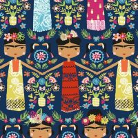 Dashwood Studio Fiesta Cotton Fabric Ladies