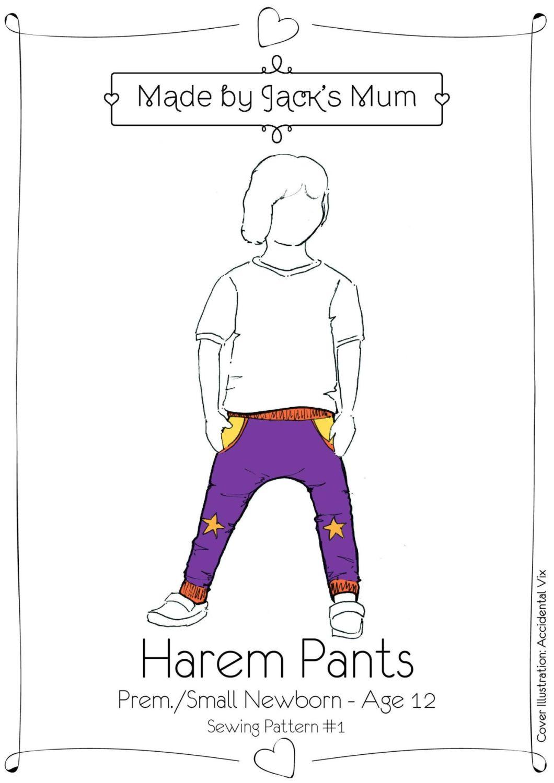 MBJM Harem Pants Age Newborn to 12 Years