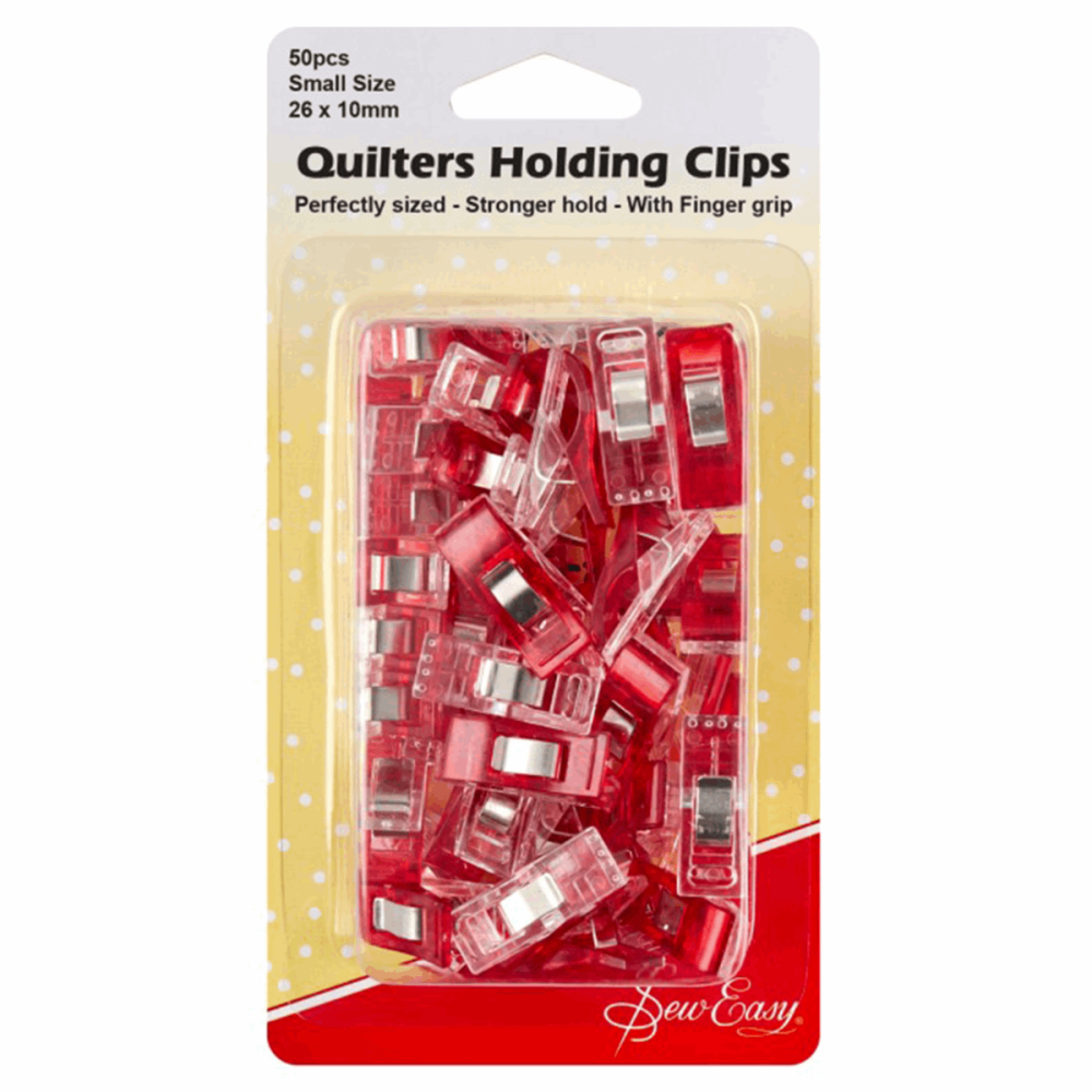 Quilters Fabric Clips 50pcs