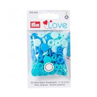 Prym Love Snap Fasteners 12.4mm 30pcs Blues