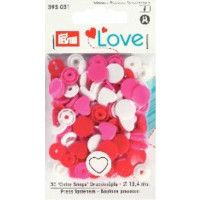 Prym Love Snap Fasteners 12.4mm 30pcs