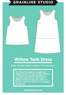 Grainline Studio Willow Tank Top & Dress