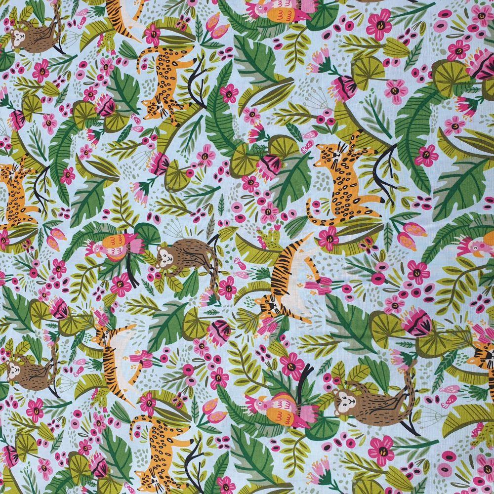 Jungle Cotton Fabric