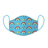 Child's Reusable Face Mask Rainbow & Sun