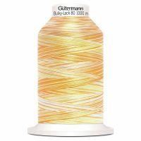Gutermann Bulky-Lock 80 multicolour 1000m Yellow Mix