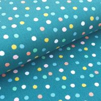 Cotton Poplin Fabric Happy Feeling Polka Dots