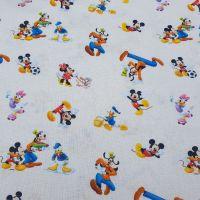 Disney Cotton Fabric Playout Mickey