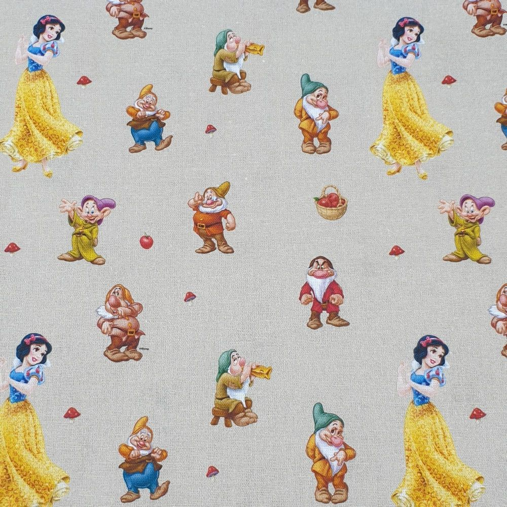 Disney Cotton Fabric Snow White