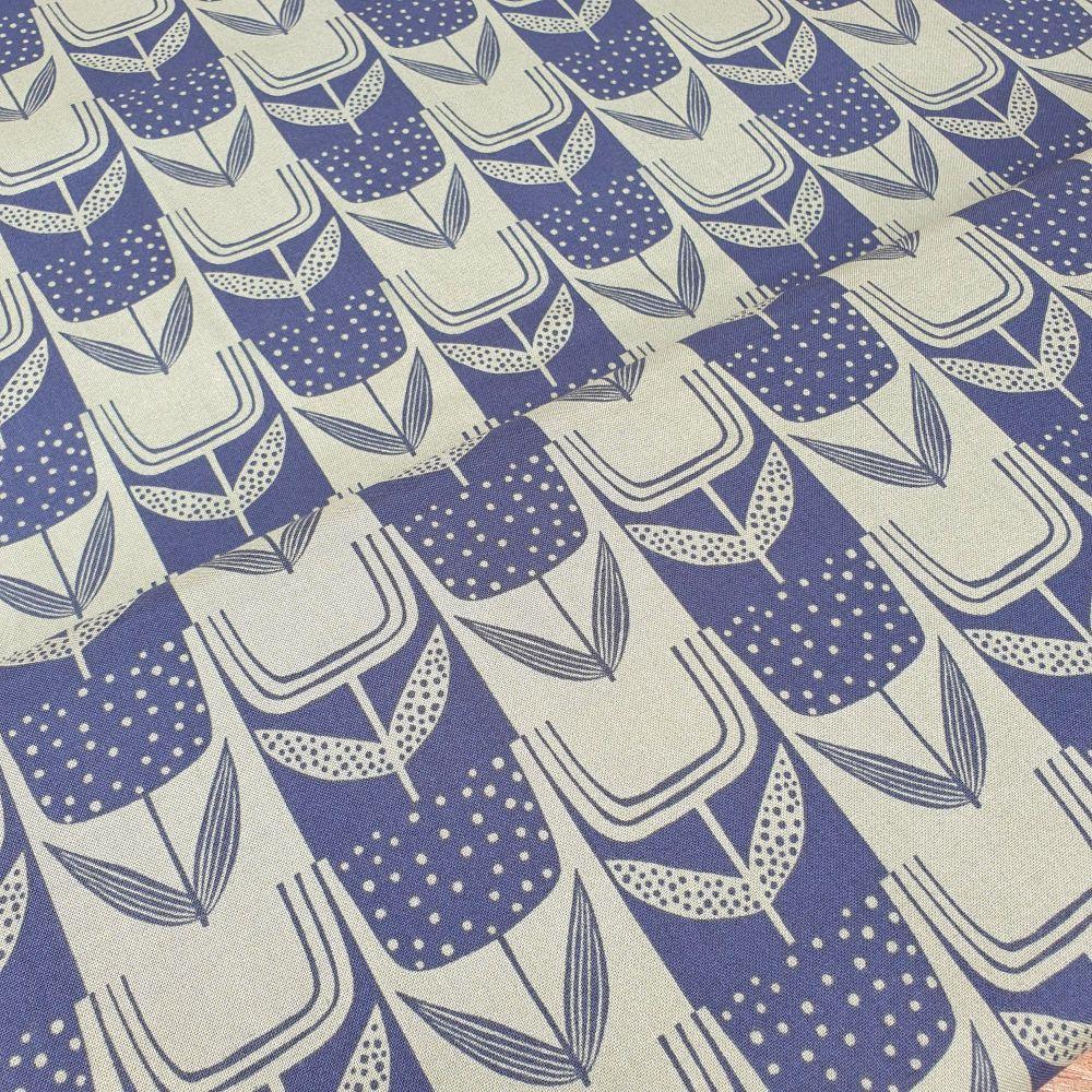 Makower Cotton Fabric Perennial 9570B