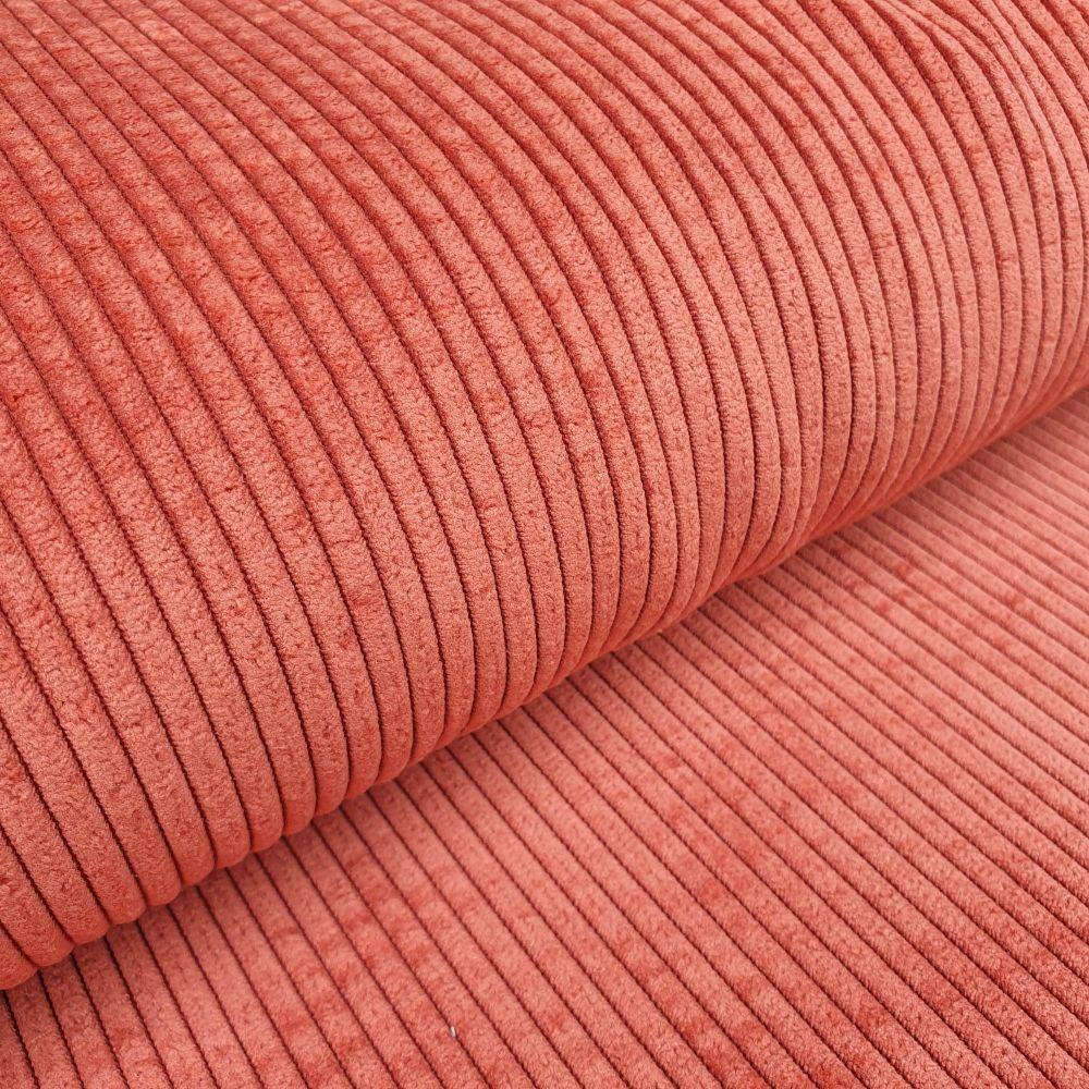 Soft Corduroy Fabric Terracotta