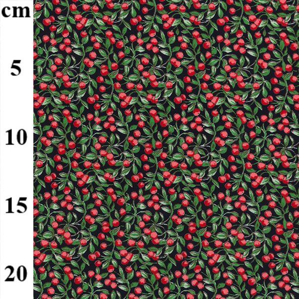 Berries Cotton Poplin Fabric