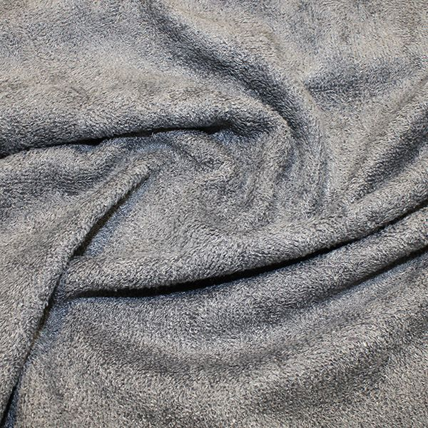 Bamboo Towelling Grey