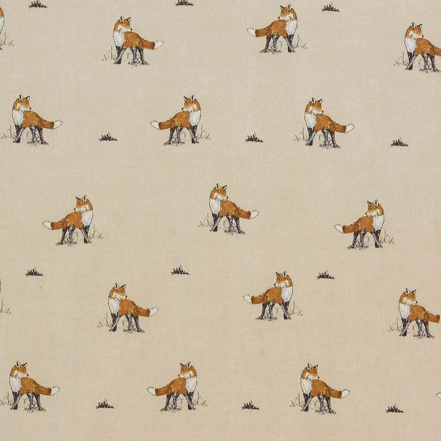 OilCloth Fabric Vixen