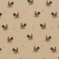 OilCloth Fabric Bantams Matt
