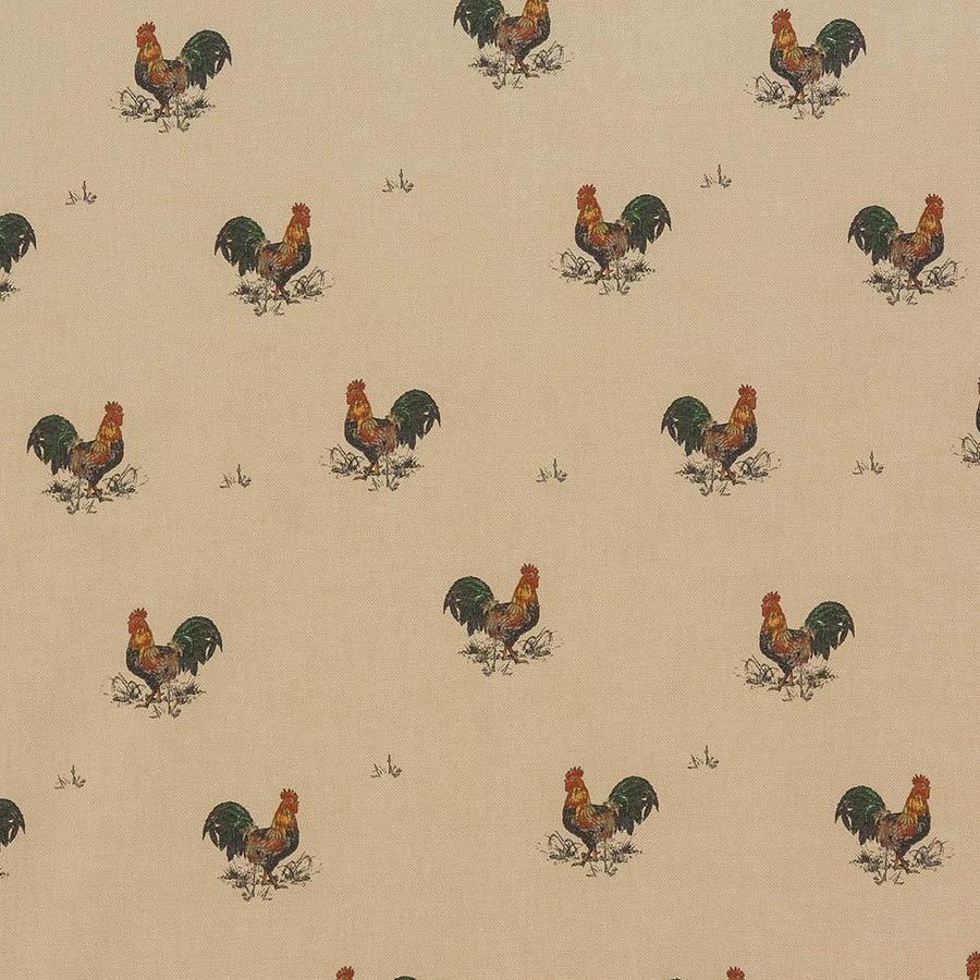 OilCloth Fabric Bantams Matt