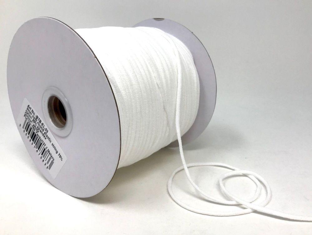 Soft Elastic 3mm White