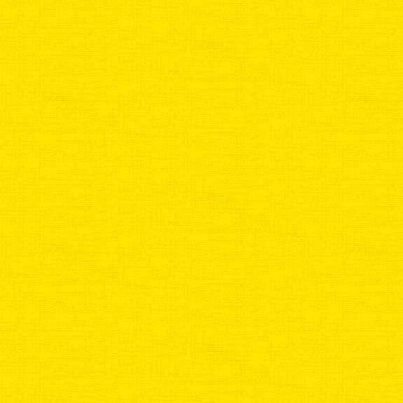 Makower Linea Texture Cotton Fabric Sunshine