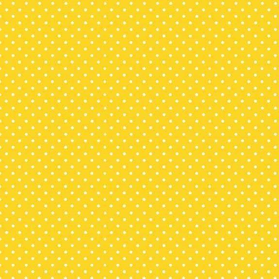 Makower Spot on Sunshine Cotton Fabric