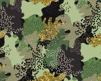 Little Johnny Cotton Fabric Camouflage