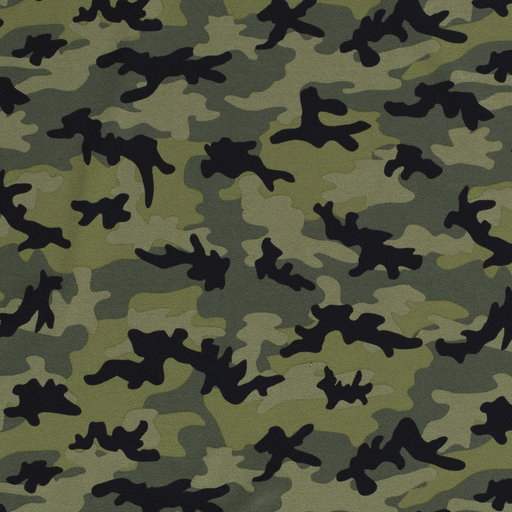 Cotton Jersey Fabric Army Green