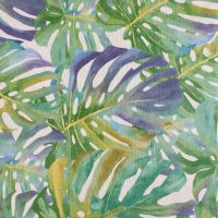 OilCloth Tropical Leaves Greens