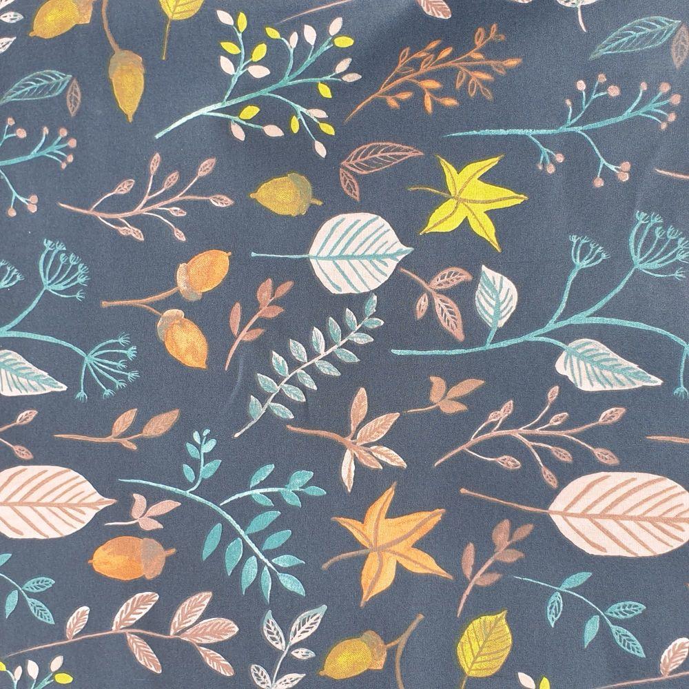 OilCloth Fabric Amarante