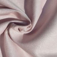 Metallic Viscose Fabric Baby Pink