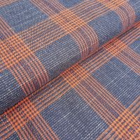 Tartan Poly/Viscose Stretch Fabric