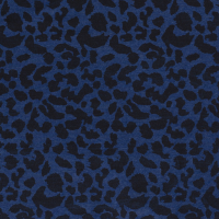 Denim Fabric Animal Print