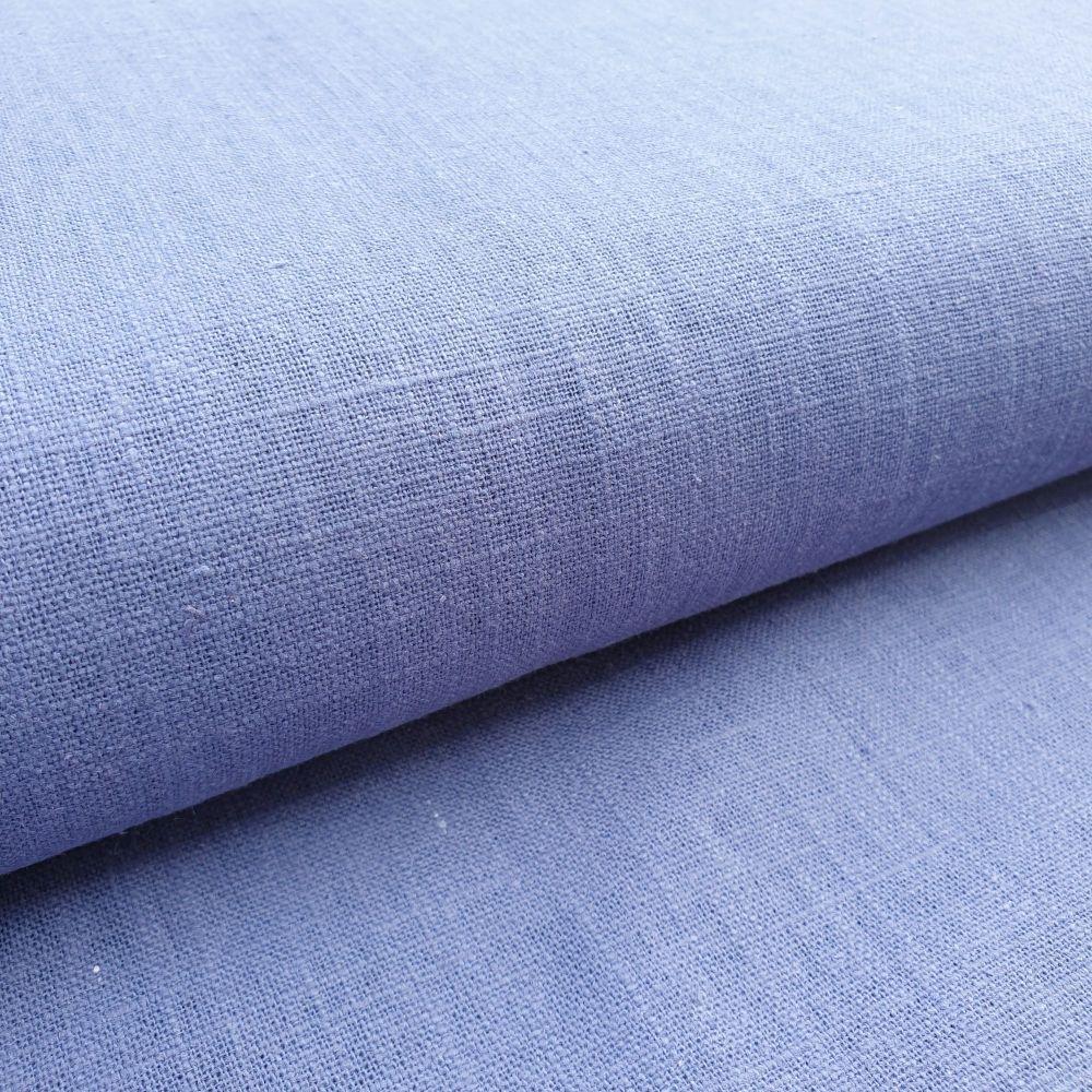 Linen Fabric Denim Blue