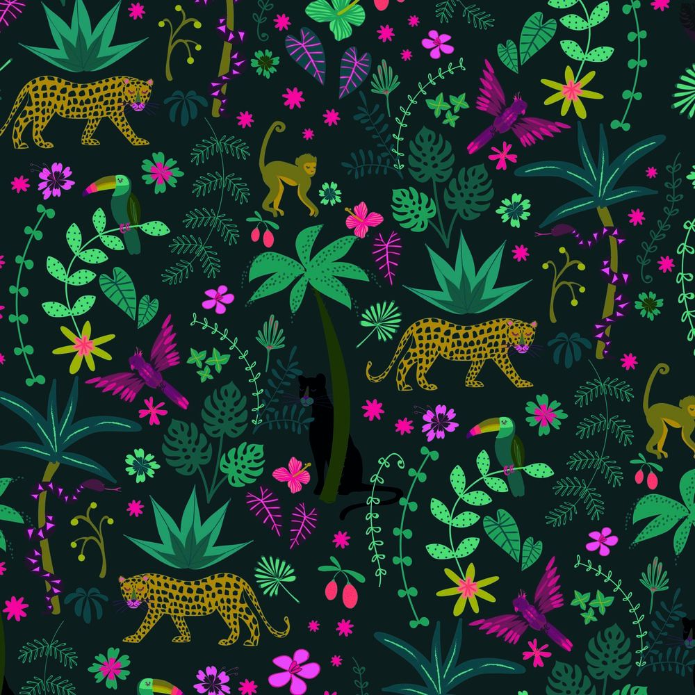 Dashwood Studio Night Jungle Animals