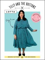 Lotta Dress Tilly & The Buttons Sewing Pattern