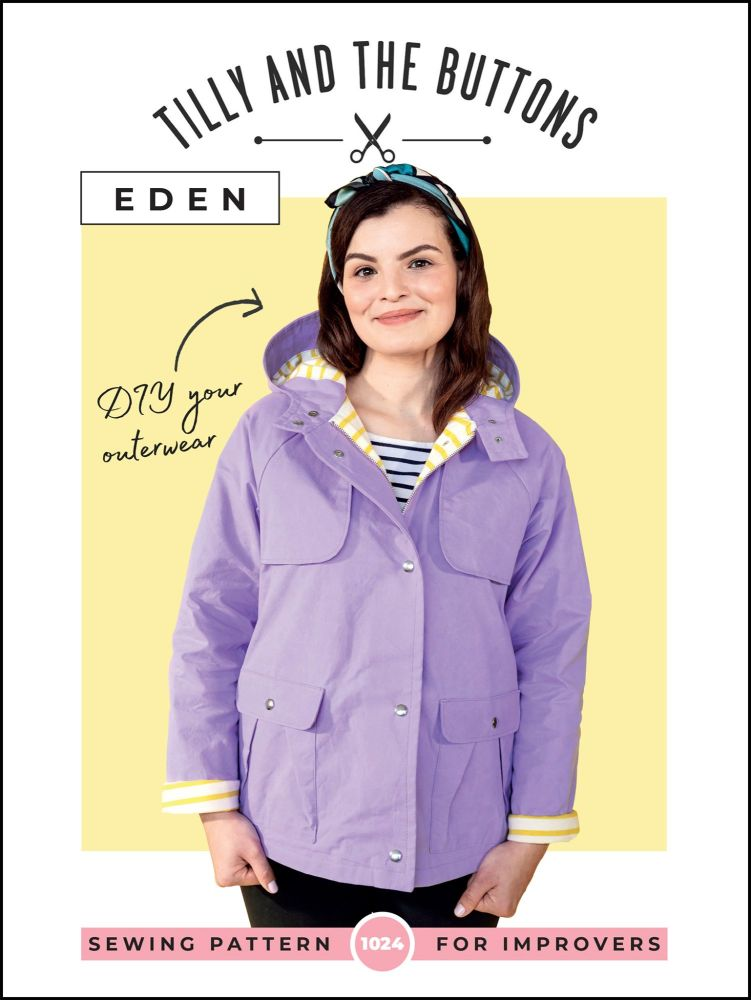Tilly And The Buttons Eden Coat Sewing Pattern